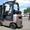 Газовый погрузчик Nissan на 1.8 тонны вагонник с боковым смещением