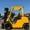 Вилочный автопогрузчик газ-бензиновый Mitsubishi с ротатором #1697969