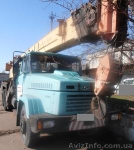 Продаем автокран Краян КС-557Кр, 30 тонн, КрАЗ 65101, 2006 г.в. - Изображение #1, Объявление #1551772