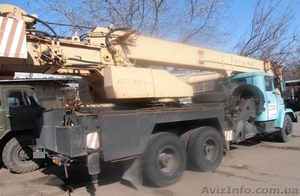 Продаем автокран Краян КС-557Кр, 30 тонн, КрАЗ 65101, 2006 г.в. - Изображение #5, Объявление #1551772