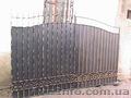 Новые железные ворота
