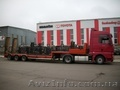 Трал низкорамный до 30 тонн - перевозки по Украине