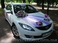 Автомобиль для свадьбы белая Mazda 6