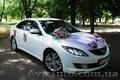 Авто на свадьбу белая Mazda 6 Николаев