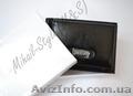 Чёрный кожаный зажим для купюр Monice на подарок