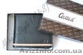 Стильный чёрный мужской кошелёк Cattail