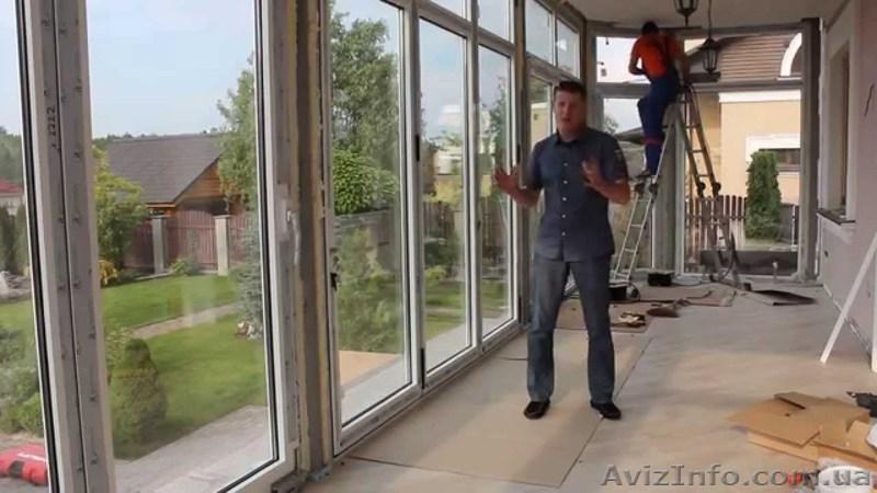 Металлопластиковые раздвижные окна, двери, балконные рамы в .