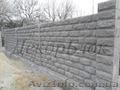 Забор из шлакоблока цена