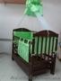 Кроватка детская на маятнике с ящиком,  от производителя.