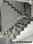 Лестница кованая для дома с перилами